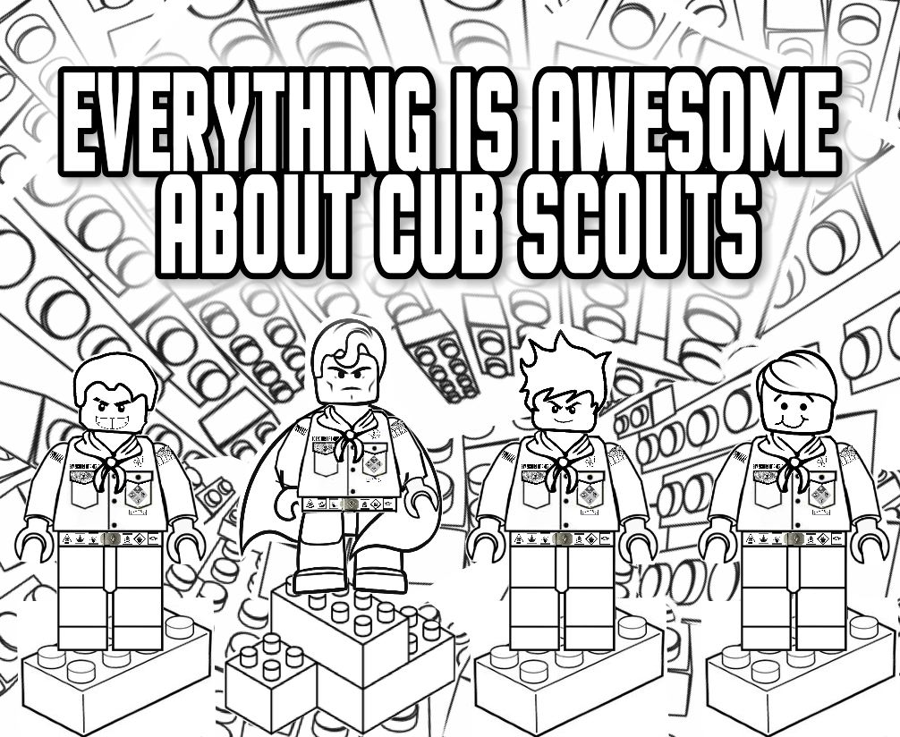 Boy Scout Coloring Pages