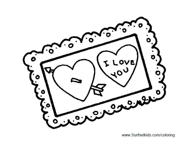 Boy Valentine Coloring Pages at GetDrawings.com | Free for personal ...