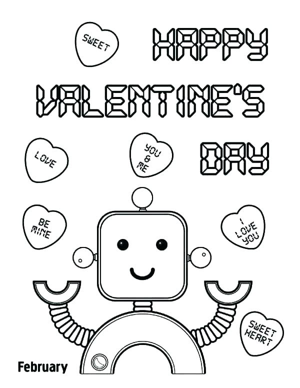 600x776 Valentines Day Coloring Pages Free Printables Kids Coloring