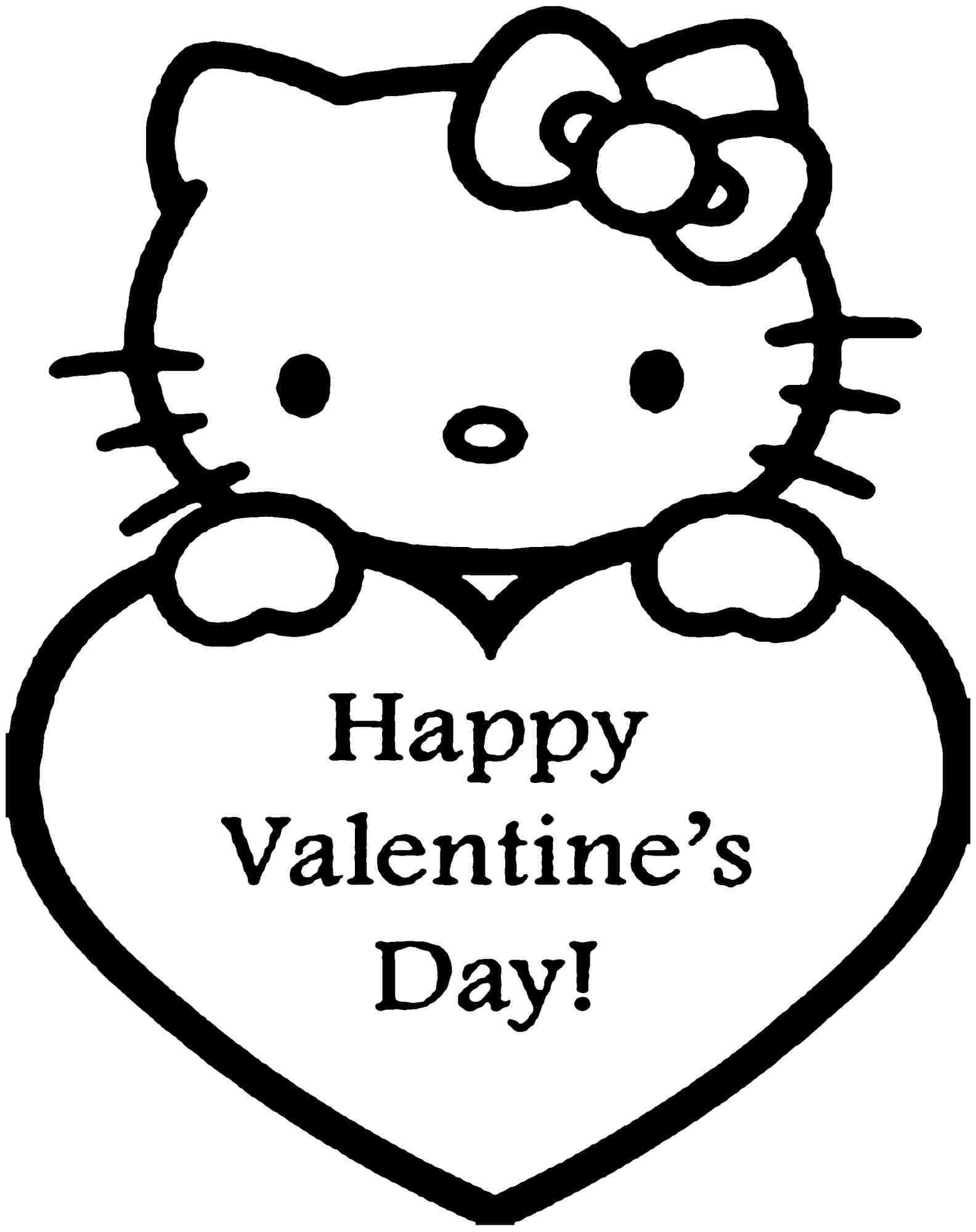 1584x2000 If You Desire To Obtain The Hello Kitty Valentine Coloring Sheets