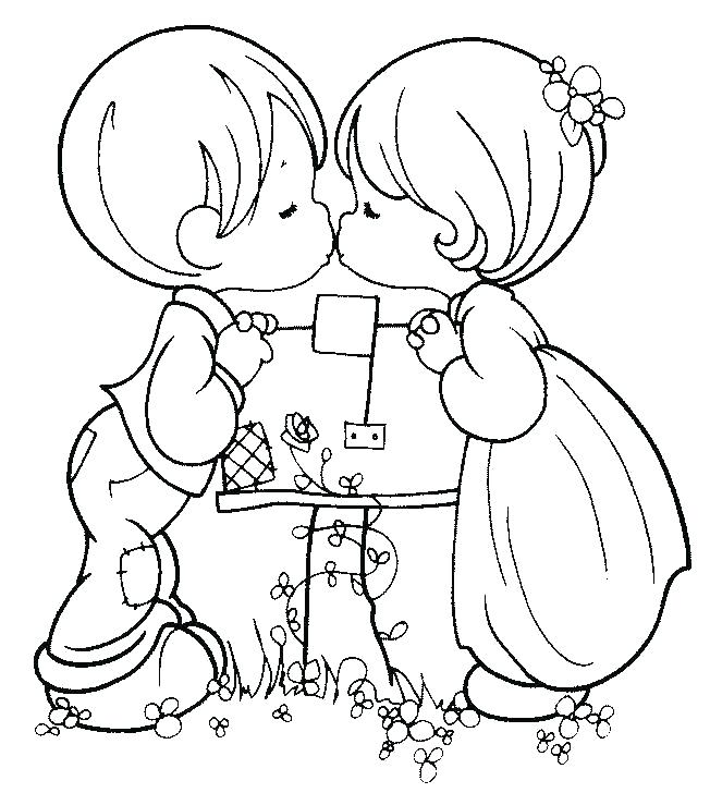652x728 Precious Moments Valentine Coloring Pages