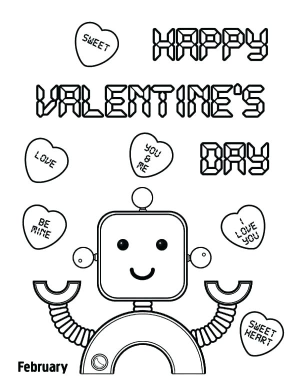 600x776 Free Printable Valentines Day Coloring Pages Free Printable