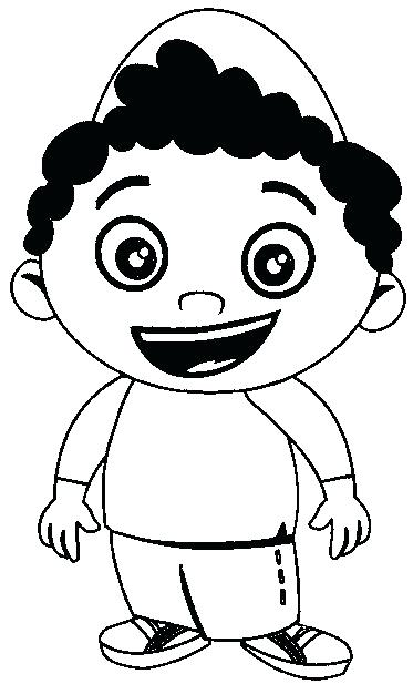 373x617 Coloring Pages For Boy Little Boy Coloring Page View Larger
