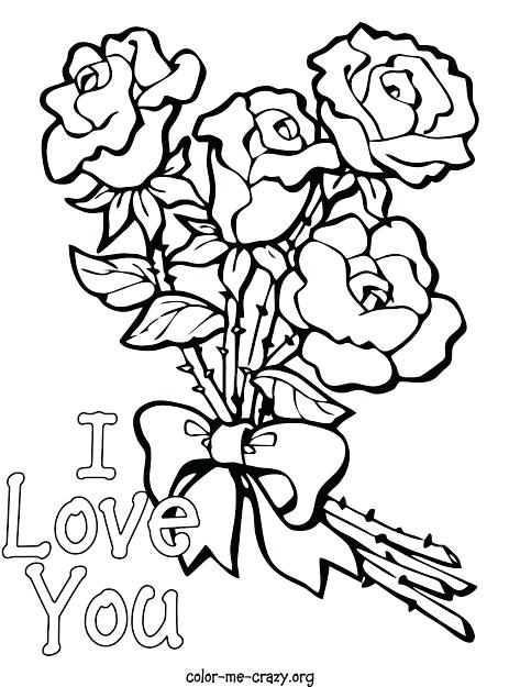 463x625 Coloring Pages Online Printable Pics Of I Love You Boyfriend Art