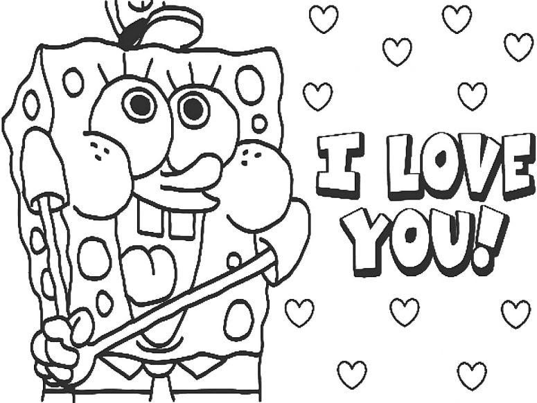 775x582 I Love You Coloring Pages For Boyfriend Coloring Page For Creativity