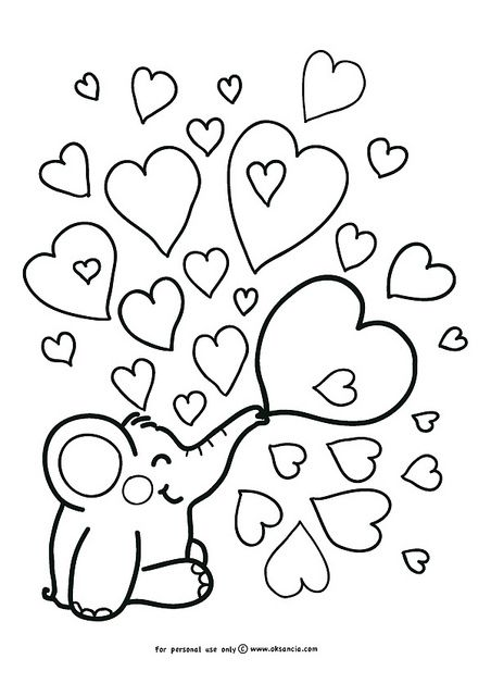 452x640 Love Weekly Free Coloring Page