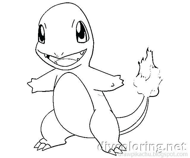 640x533 Pokemon Coloring Pages Charmander Coloring For Kids Coloring Pages