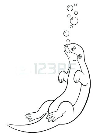 318x450 Winter Fun Coloring Pages Sea Otter Ice Cream Harry Potter