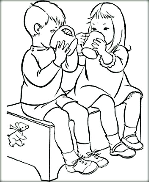 480x586 Friend Coloring Pages Back To Post Friendship Coloring Pages