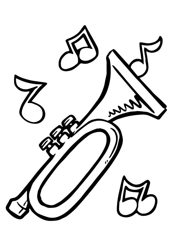 595x842 Print Coloring Image Music Lovers And Music Notes