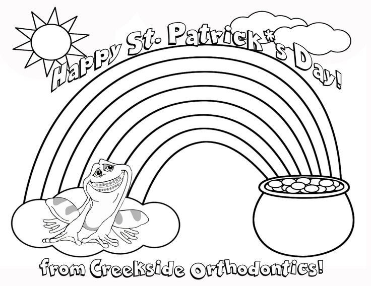 Braces Coloring Pages