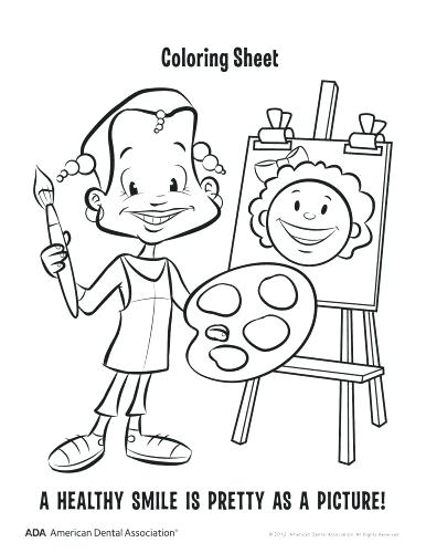 386x500 Dentist Coloring Pages Kids Coloring Coloring Pages Dental