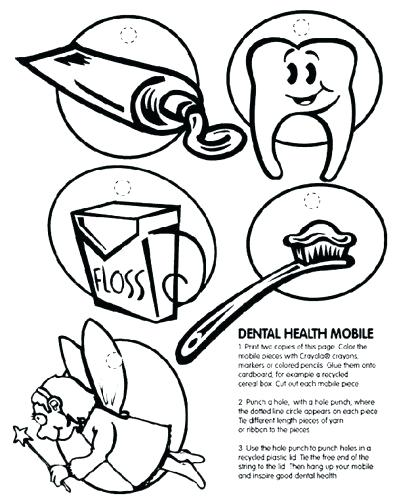 393x500 Dentist Coloring Pages