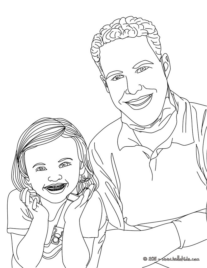 820x1060 Dentist And Kid With Dental Braces Coloring Pages