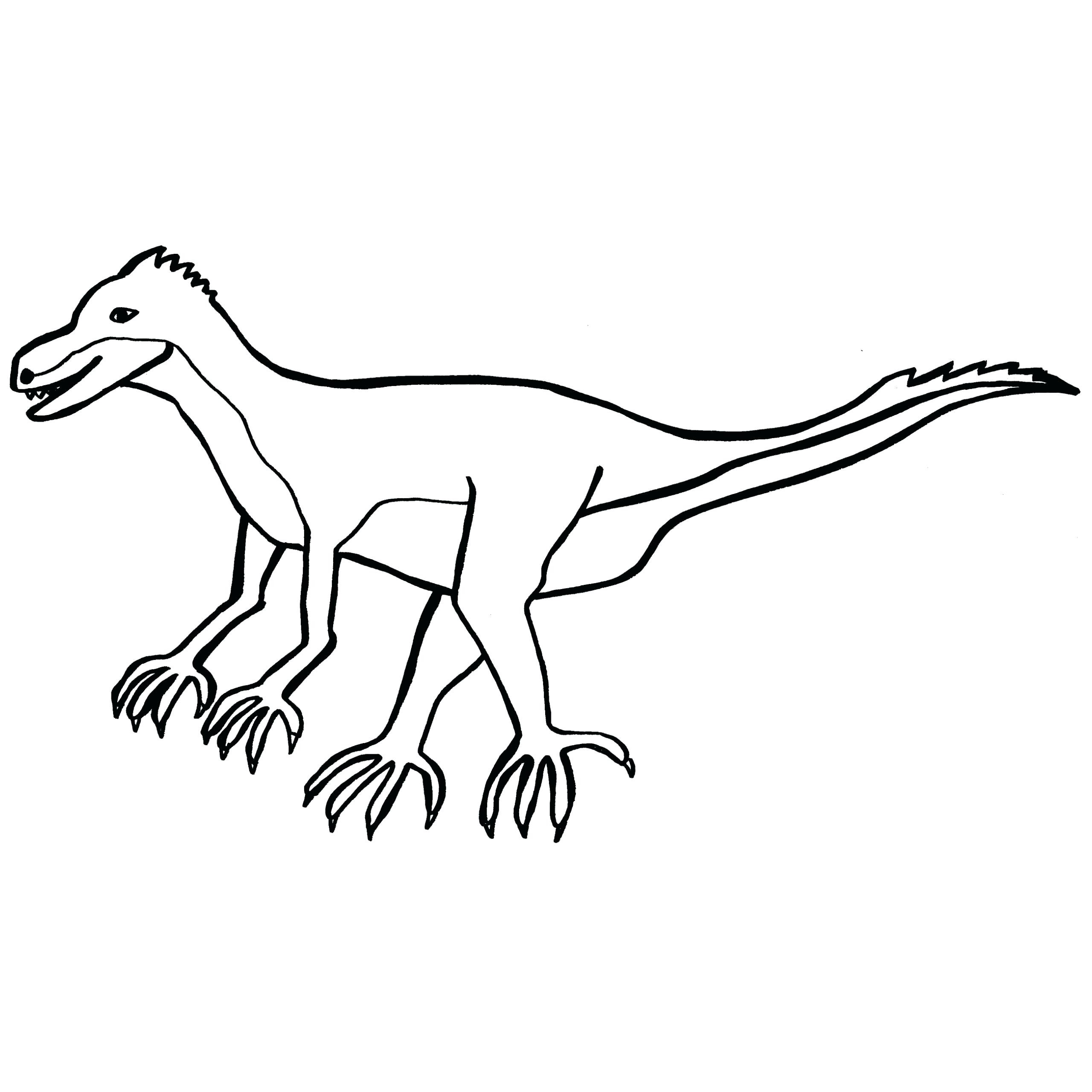2560x2560 Brachiosaurus Dinosaur And Mountains Coloring Pages For Kids
