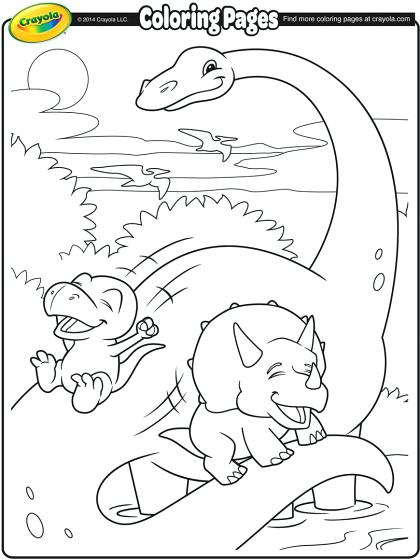 420x560 Brachiosaurus Coloring Page And Dinosaur Friends Coloring Page