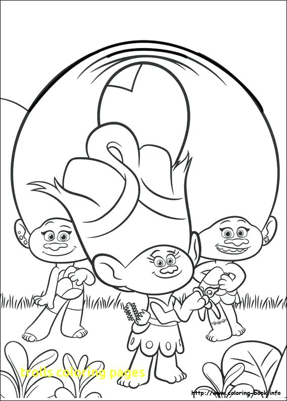 567x794 Branch Coloring Page Trolls