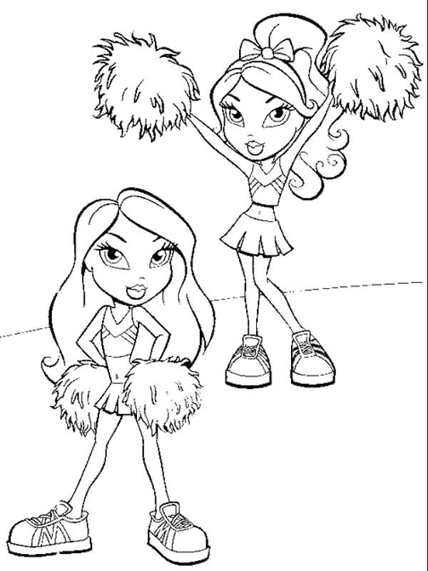 600x800 Cheerleading Coloring Pages Free Printable Coloring Sheets Lovely
