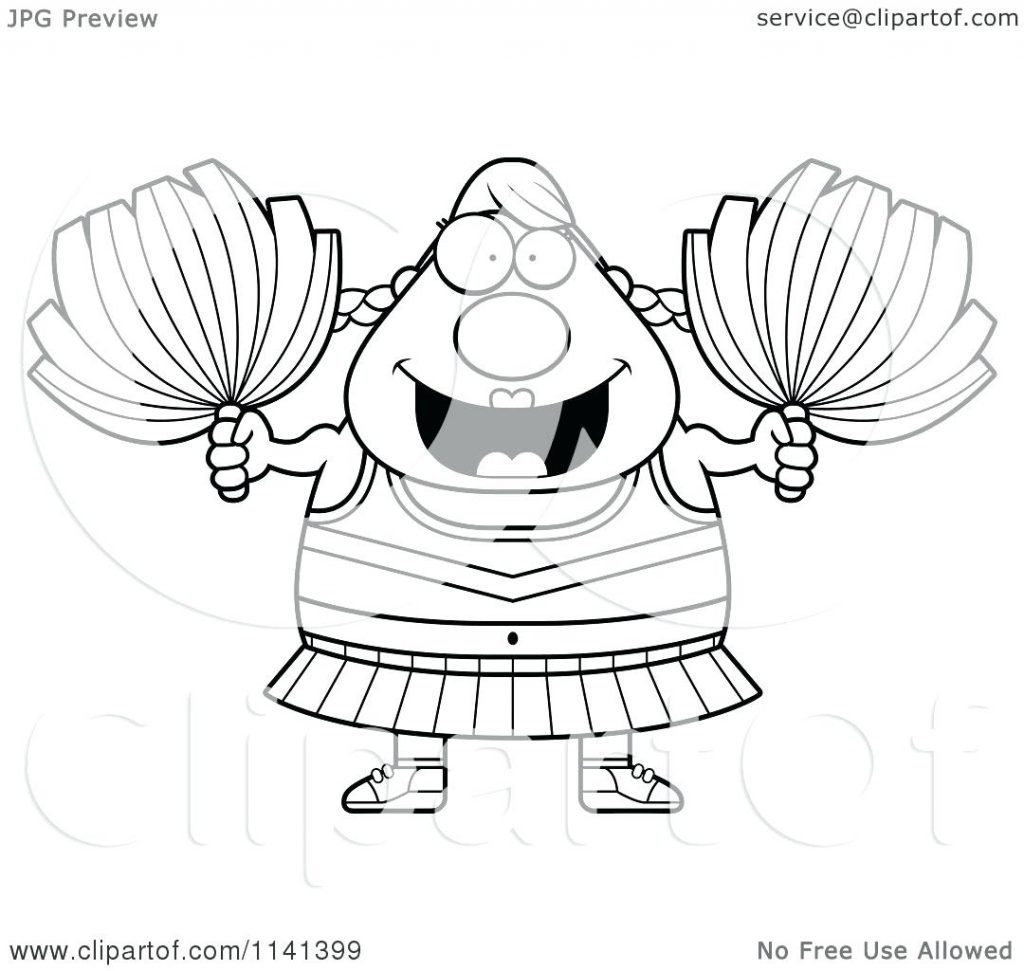 1024x971 Coloring Pages Cheerleader Coloring Pages Cartoon Of A Black