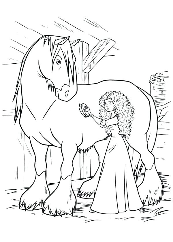 600x840 Brave Coloring Page Printable Brave Coloring Pages Coloring Me