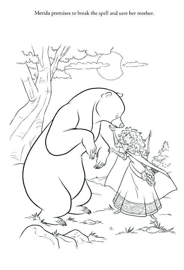 615x900 Brave Coloring Pages Brave Coloring Book Also Brave Coloring Pages