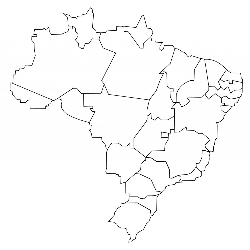 1024x1021 Brazilian Provinces Map Printable Coloring Pages