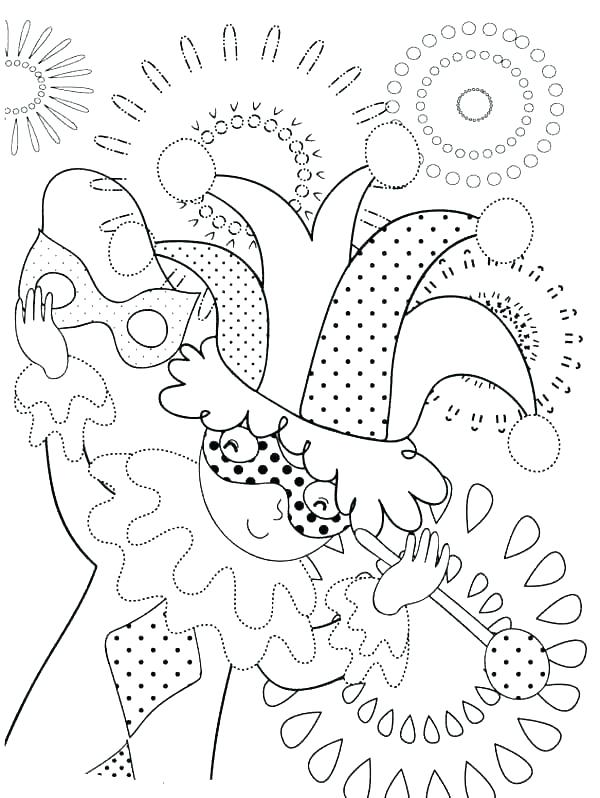600x798 Carnival Coloring Pages Carnival Of The Animals Coloring Pages