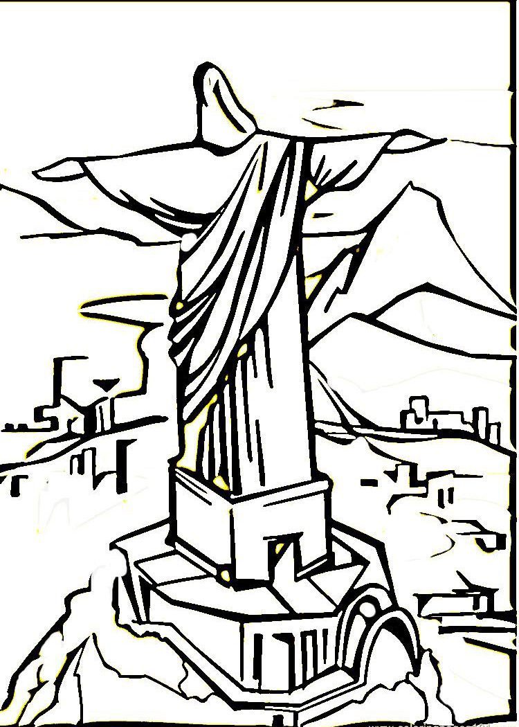 750x1050 Flag S Brazil Coloring Pages General Printable High Quality