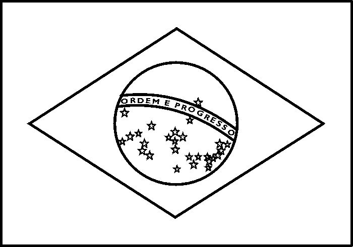 700x491 Brazil Flag Coloring Page Flag Coloring Page Free