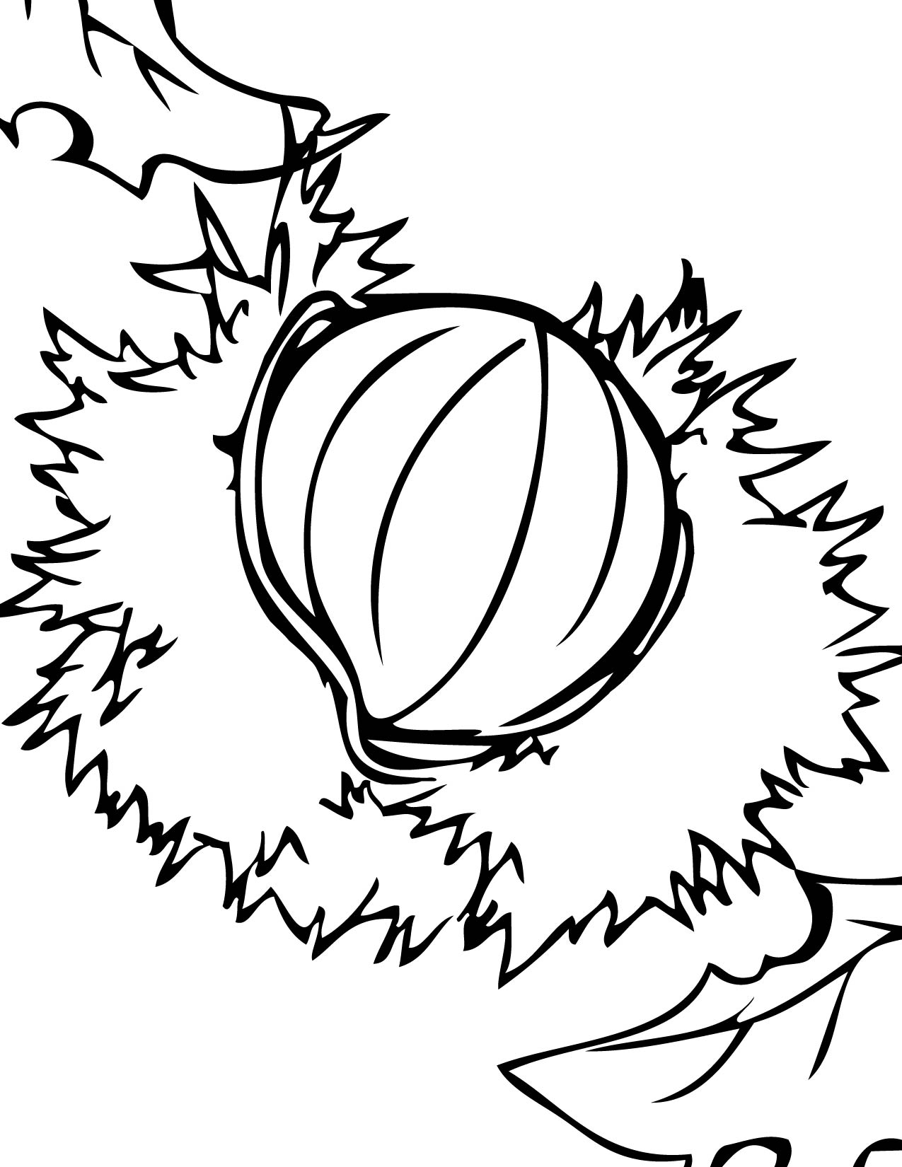 1275x1650 Brazil Coloring Page