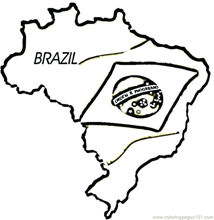 picture about Brazil Flag Printable identify Brazil Flag Coloring Web site at  Free of charge for