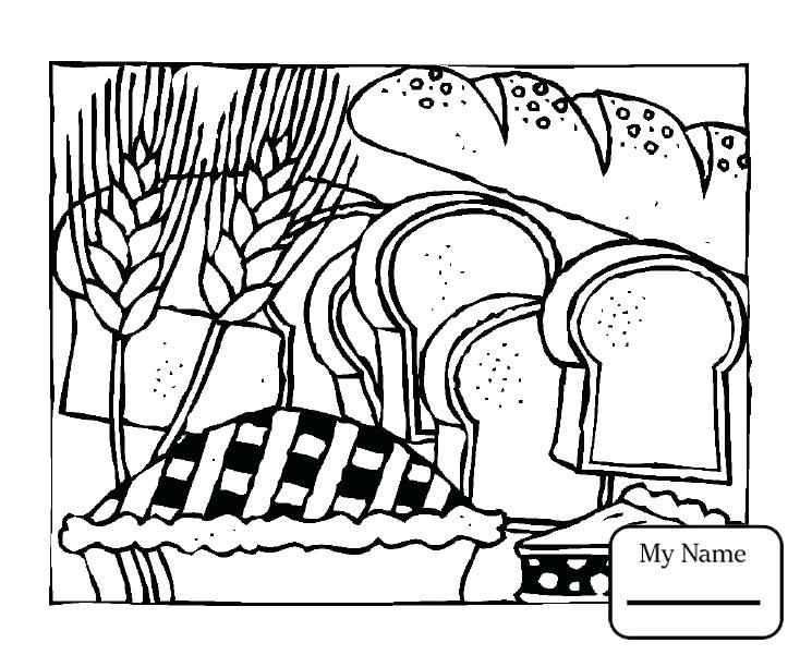 734x601 Breakfast Coloring Pages Breakfasts Beans Home Housework Coloring