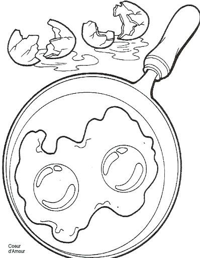 398x512 Breakfast Coloring Pages Egg Free Breakfast Coloring Pages