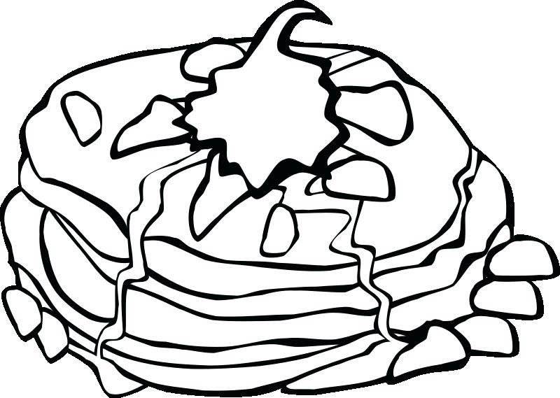 800x569 Breakfast Coloring Pages Stunning Breakfast Coloring Pages Pancake