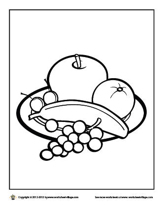 331x423 Eat A Healthy Breakfast Coloring Page