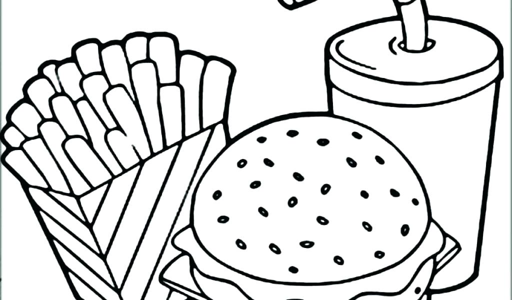 1024x600 French Toast Coloring Page
