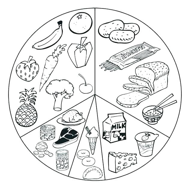 630x631 Breakfast Coloring Pages Breakfast Coloring Page Printable Food
