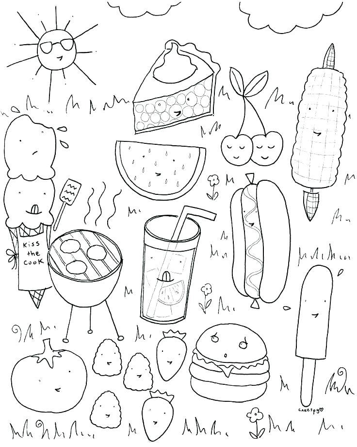 736x920 Breakfast Coloring Pages Click To See Printable Version Of Tasty