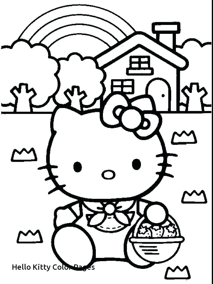 718x957 Color Pages Hello Kitty
