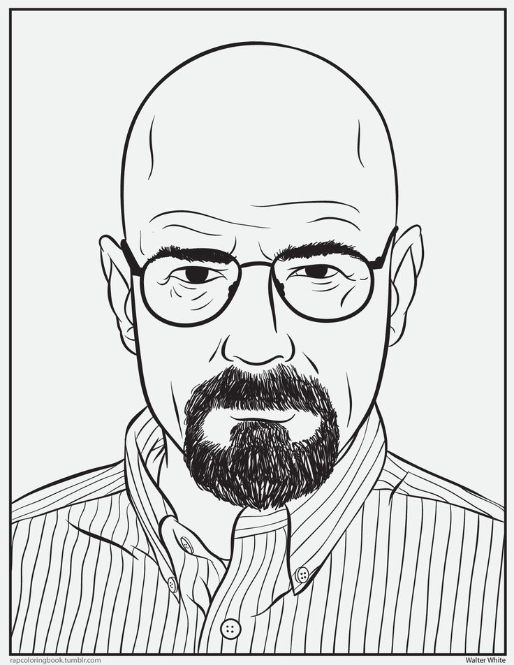 Breaking Bad Coloring Pages