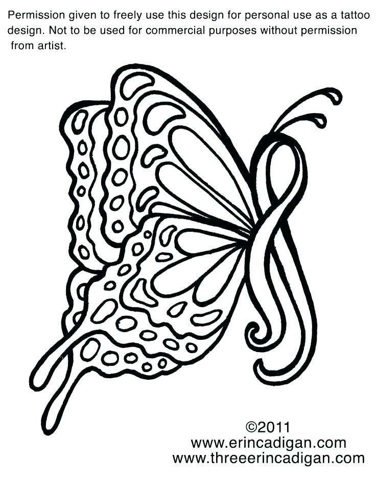736x932 Cancer Ribbon Coloring Page Breast Cancer Awareness Coloring Pages