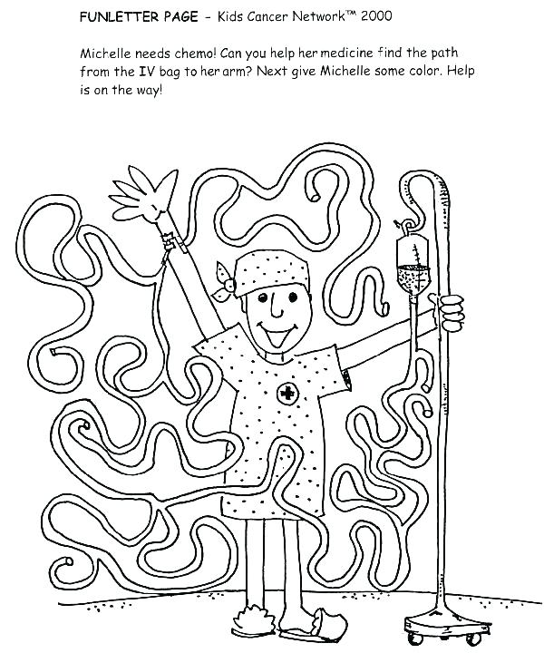 600x720 Breast Cancer Ribbon Coloring Pages Cancer Ribbon Coloring Page