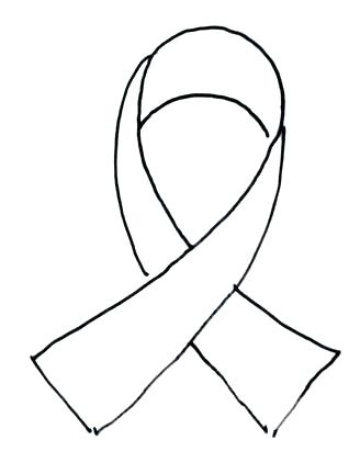 318x432 Cancer Ribbon Coloring Page Breast Cancer Ribbon Coloring Page