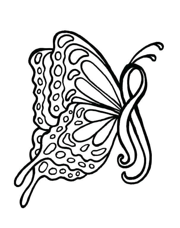 606x768 Ribbon Coloring Pages