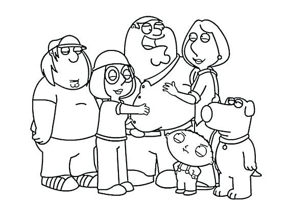 564x402 Peter From Family Guy Coloring Pages Griffin Minion A Free And P
