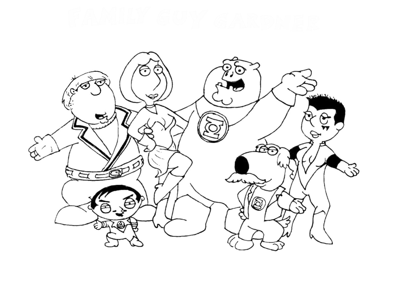 1600x1130 Printable Family Guy Coloring Pages Coloring Me