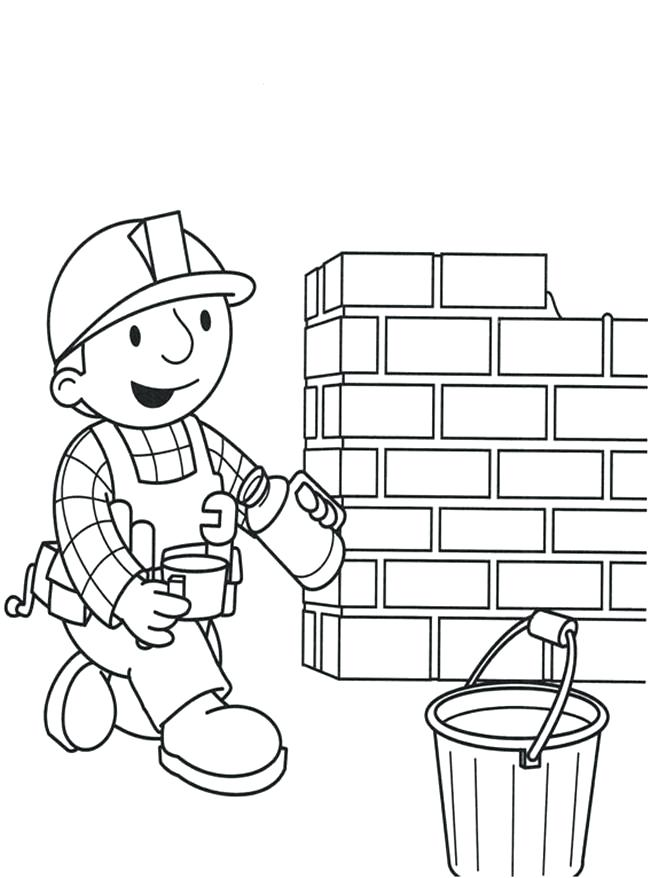 650x878 Brick Coloring Page Brick Coloring Page Brick House Coloring Page