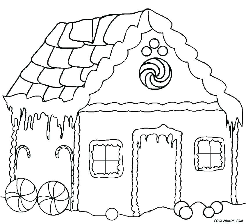 846x769 Coloring Page Of A House Coloring Pages House Brick House Coloring