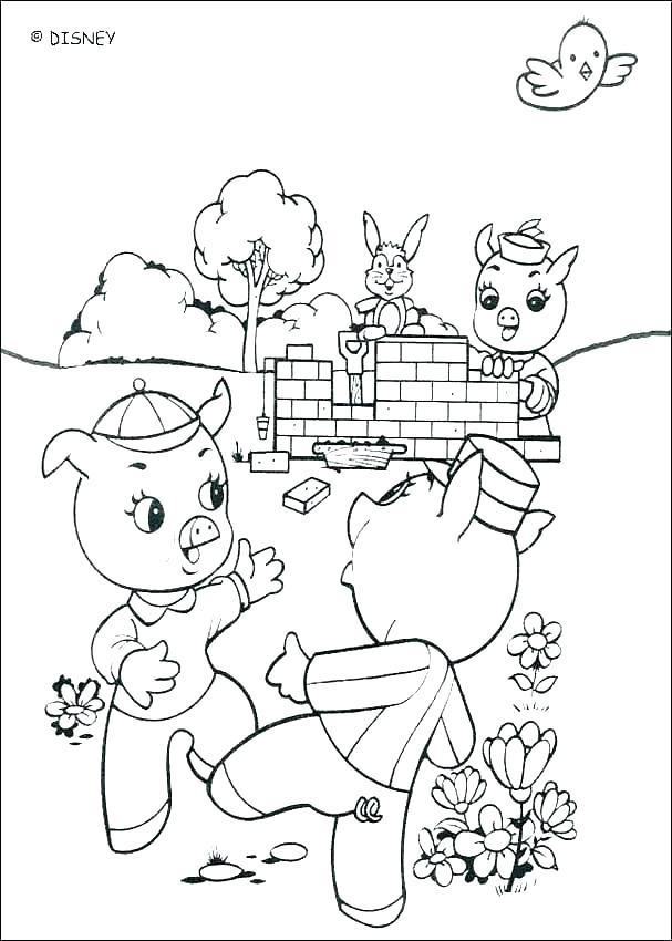 607x850 Stained Brick House Before And After Coloring Page Coloring Page