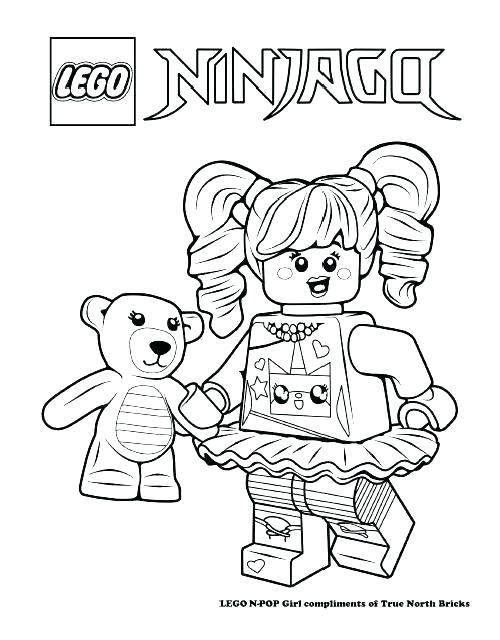 500x640 Brick Coloring Page Adult The Movie Coloring Pages Printable Extra